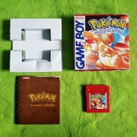 Gameboy - Pokemon rote Edition (mit OVP + Trainer Guide)