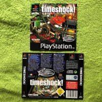 PS1 - Timeshock (Front- & Backcover)
