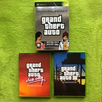 XBox Classic - Grand Theft Auto GTA: Doppelpack (GTA 3 & Vice City) (USK18)