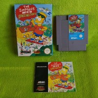 NES - The Simpsons - Bart vs. The Space Mutants (mit OVP + Anleitung) - Nintendo