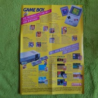 Gameboy & NES SNES Poster Werbung Ad Flyer