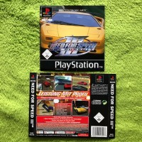 PS1 - Need for Speed III 3: Hot Pursuit (Front- & Backcover)