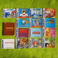 Gameboy & GB Color & GB Advance Anleitungen (z.B. Pokemon, Super Mario, Schlümpfe, uvm.) - Nintendo