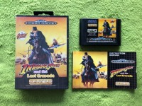 Mega Drive - Indiana Jones and the last Crusade (komplett)