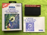 Master System - Castle of Illusion starring Mickey Mouse (komplett)