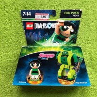 Lego Dimension - Powerpuff Girls: Buttercup & Mega Blast Bot mit OVP