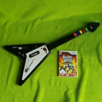 Wii - Guitar Hero - World Tour (inkl Guitarre)