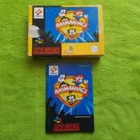 SNES - Animaniacs OVP + Anleitung Booklet Manual (OHNE MODUL)