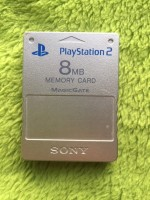 Playstation 2 PS2 - Memory Card silber 8MB ORIGINAL Sony