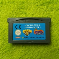 Gameboy Advance - Crash & Spyro Superpack Vol 1 (Crash Bandicoot 2 + Spyro Season Ice) (EUR) (nur Mo