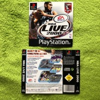 PS1 - NBA Live 2000 (Front- & Backcover)