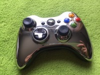 XBox360 - wireless Controller silber / chrom
